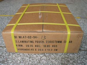 Pet Pouch Film Thermal Laminating by Laminator (YD 32~250mic) pictures & photos
