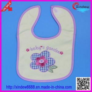 Baby′s Cotton Embroidered Bib pictures & photos