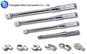 Shanghai Billy Interchangeable Adapter Torque Wrench