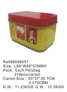 Red/Green/Black Tea and Gift, Food Tin pictures & photos