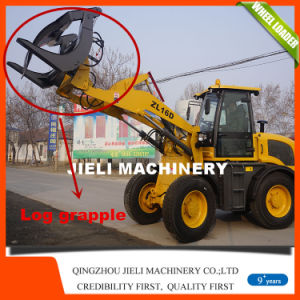 Ce 1.6 Tons EPA4 Wheel Loader with Hydraulic Pallet Fork pictures & photos