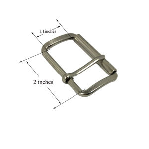 """Custom Silver Plated Metal Belt Buckle Pin Buckle (inner size: 2"""") pictures & photos"""