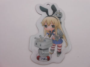 Cosplay Picture Key Accessories with Epoxy-Dripping Artwork (GZHY-KA-037) pictures & photos