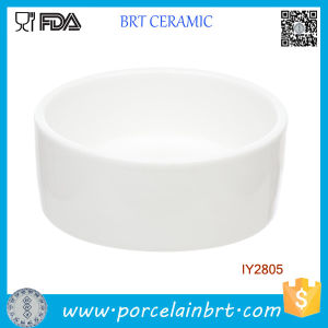 Custom White Ceramic Dish for Small Animals Pet Bowl pictures & photos