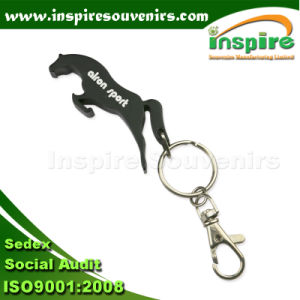 Animal Shape 3D Seahorse Metal Silver Key Chains pictures & photos