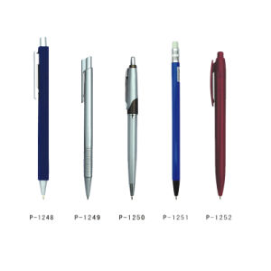 Hotel Amenities Pen & Pencil OEM Manufacturer 6 Ball Point Pen pictures & photos