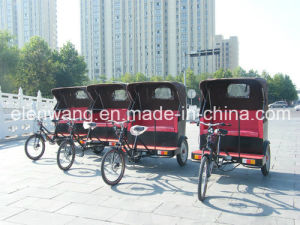 Human Power Rickshaw Passenger Tricycle pictures & photos