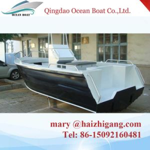 4.6m Deep V Bottom Aluminum Boat for Fishing pictures & photos