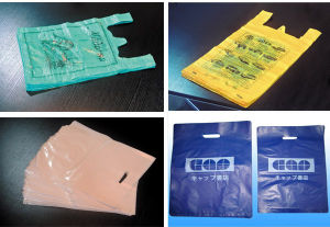 Auto Punching Bottom Sealing Bag Making Machine pictures & photos