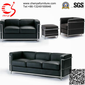 Elegant Leather Sectional Home Sofa/ Office Sofa (CY-S0026-3)
