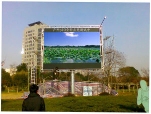 P10 Full Color LED Display Module pictures & photos