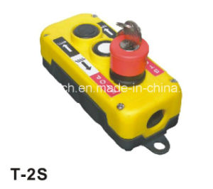 Tail Remote Control Leader Crane Hoist Switch (T-2S(KEY)) pictures & photos