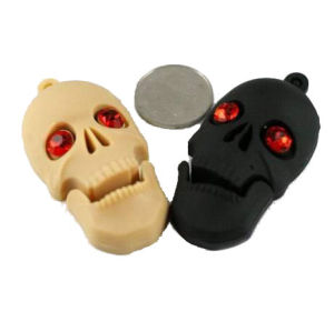 Halloween Gift Flash Memory Pendrive Skull USB Flash Drive pictures & photos