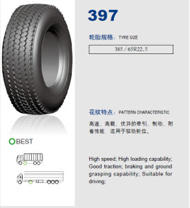 Annaite Brand New Radial Truck Tyre (397 385/65R22.5) pictures & photos