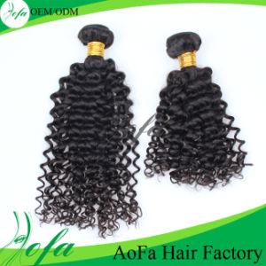 Deep Wave Brazilian Hair Natural Virgin Human Hair Weave pictures & photos