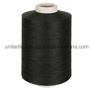 100% Polyester Dope Dyed Yarn with 450d/192f Semi Dull Nim DTY pictures & photos