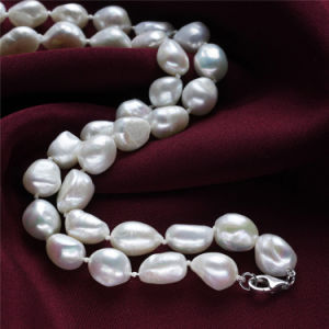 10mm AA 925silver Real Designer Pearl Necklace pictures & photos