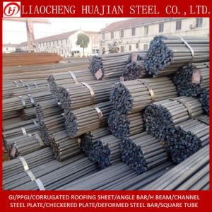 GB Standard 20mm Deformed Steel Rebar in Warehouse pictures & photos