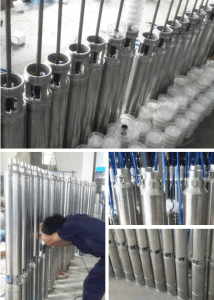 4ss Stainless Steel Submersible Deep Well Water Pump pictures & photos
