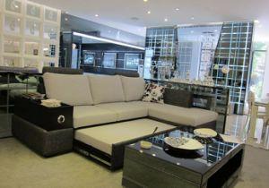 Chinese Furniture/Combination Sofa/Hotel Modern Sectional Sofa/Living Room Modern Sofa/Corner Sofa/Upholstery Fabric Modern Sofa (GLMS-018) pictures & photos
