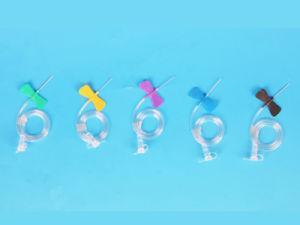 18g-27g Luer Slip Scalp Vein Set/Butterfly Needle pictures & photos