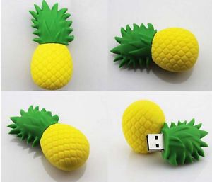 PVC Pineapple USB Stick Flash Memory Pen Drive pictures & photos