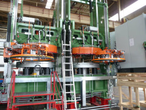 Hydraulic TBR Tire Curing Press with Hf Technology pictures & photos