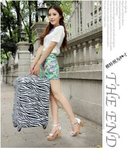 Zebra Rod Box Universal Wheel Men′s and Women′s 24 Inch Luggage Luggage Box Password Box, 20 Inch pictures & photos