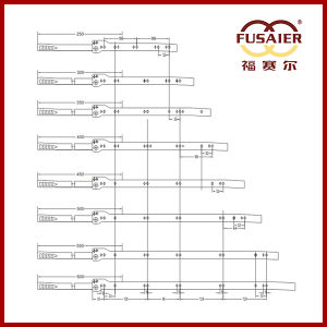 Fgv Type Cabinet Hardware Drawer Slide pictures & photos
