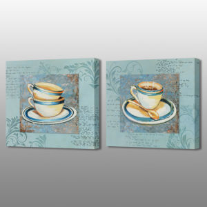 MP-575ab Hot Selling Coffee Mug Stretched Print Canvas Oil Painting