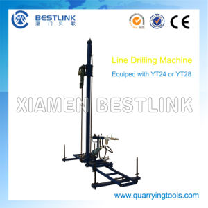 Stone Quarry Pneumatic Mobile Line Rock Drill for Drilling pictures & photos