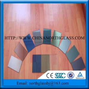 5mm Color Mirror Coating Glass Panel with Low Price pictures & photos