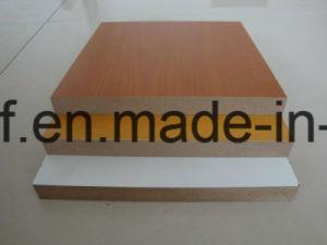 2mm Good Quality E1 Glue Red Color Laminated/ Melamine MDF pictures & photos