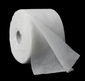 Non Woven Face Tissues in Roll pictures & photos