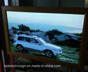 Wooden Frame LED Light Box pictures & photos