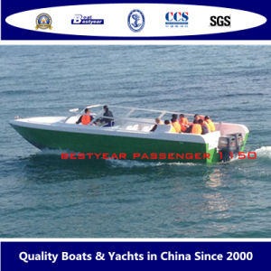 Bestyear High Speed Passenger Boat 1150bowride pictures & photos