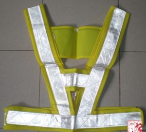 PVC Reflective Stripe for Vest and Garments pictures & photos