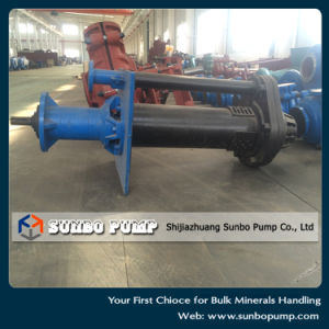 Abrasive Vertical Submersible Slurry Pump with Mixer and Agitator pictures & photos