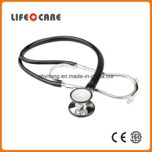 Medical Single Tubing Sprague Rappaport Zinc Alloy Stethoscope pictures & photos