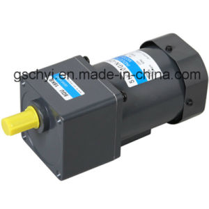 60W 90mm AC Geared Electrical Motor (5IK60GN-CF) pictures & photos