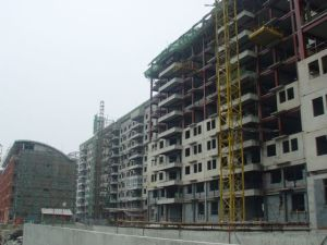 High Rise Steel Structure Building (HX12070131, have exported 200, 000 tons)