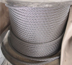 316 Stainless Steel Wire Rope 7X19 in 18mm Diameter pictures & photos