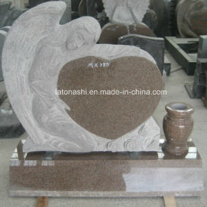 Polished Granite Angel Gravestone for Cemertery Monument pictures & photos