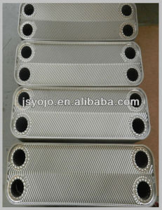 Stainless Steel Plate for Gasket Plate Heat Exchanger Plate and (NBR, EPDM, Viton) Gaskets