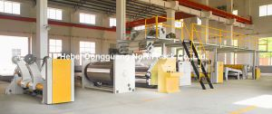High-Speed Single Facer Line Machine for Paperboard pictures & photos