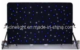 LED Star Drop Curtain DJ Booth Back Wall Lights Decoration