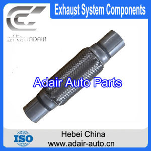 45*150*250 Stainless Steel Exhaust Flexible Pipe with Tube