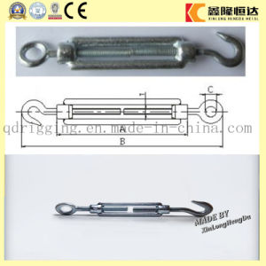 Hot DIP Galvanized Forged Eye-Eye DIN 1480 Turnbuckle pictures & photos