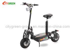 Electric Scooter Green 01-800W Front&Read LED Light System pictures & photos