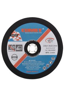 Flat Cutting Wheel for Stainless Steel (230X1.9X22.2mm) Abrasive with MPa Certificates pictures & photos